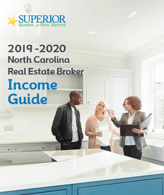 2019-2020 North Carolina Real Estate Broker Income Guide cover photo