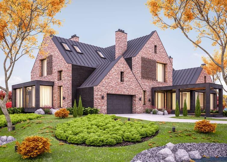 Luxury single-family home