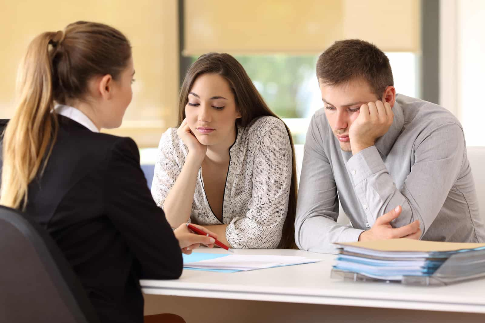 real estate broker dealing with difficult clients
